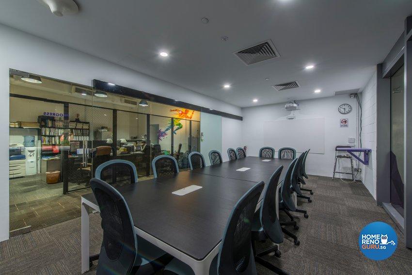 Industrial, Rustic Design - Entertainment Room - Office - Design by TBG Interior Design