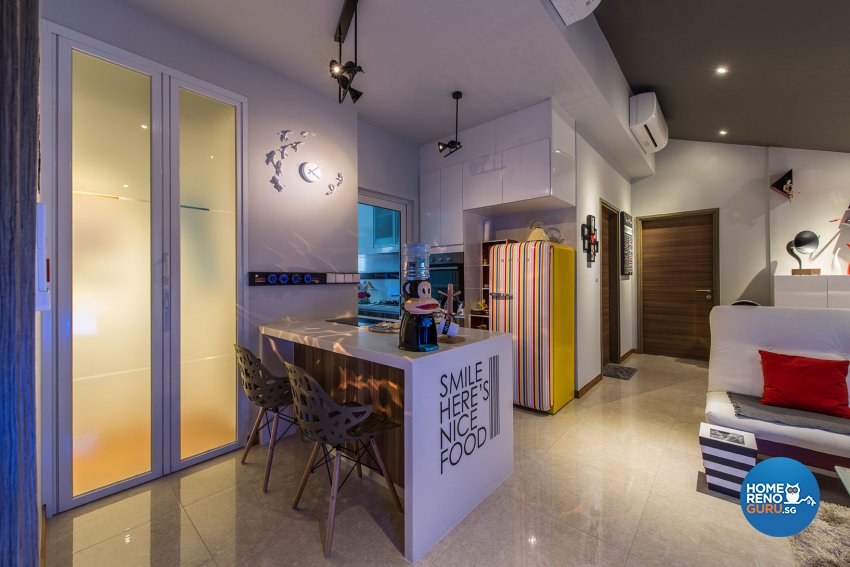 Contemporary, Eclectic Design - Dining Room - Condominium - Design by TBG Interior Design
