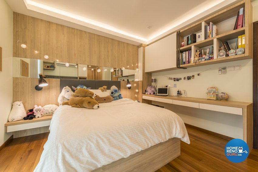 Contemporary Design - Bedroom - Landed House - Design by The Two Big Guys LLP