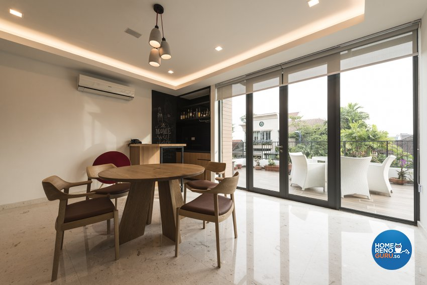 Contemporary Design - Dining Room - Landed House - Design by TBG Interior Design