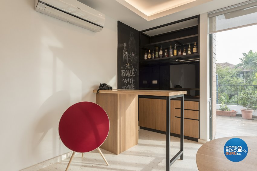 Contemporary Design - Dining Room - Landed House - Design by The Two Big Guys LLP