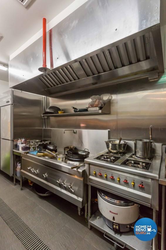 Modern Design - Kitchen - F&B - Design by The Two Big Guys LLP