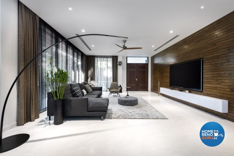 Contemporary, Modern Design - Living Room - Landed House - Design by Third Avenue Studio