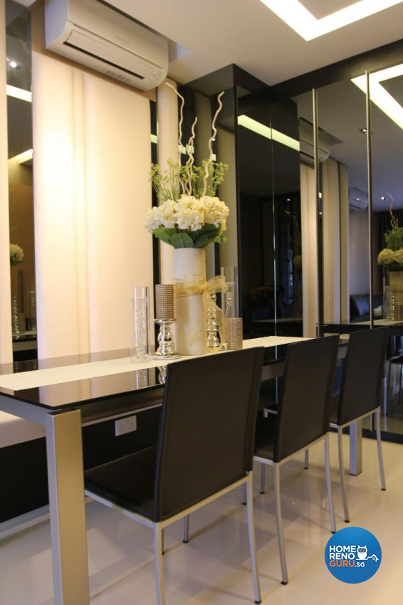 Contemporary, Modern Design - Dining Room - Condominium - Design by Thom Signature Pte Ltd
