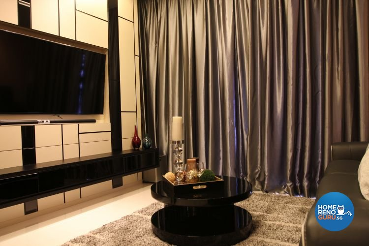 Contemporary, Modern Design - Living Room - Condominium - Design by Thom Signature Pte Ltd