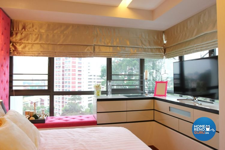 Contemporary, Modern Design - Bedroom - Condominium - Design by Thom Signature Pte Ltd