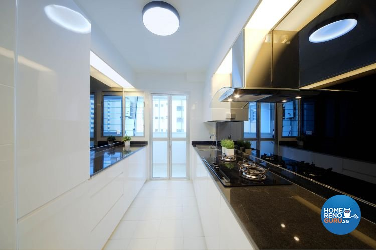 Contemporary, Modern Design - Kitchen - HDB 4 Room - Design by Thom Signature Pte Ltd