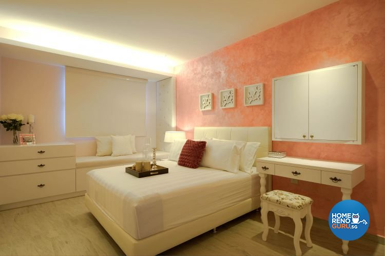 Contemporary, Modern Design - Bedroom - HDB 4 Room - Design by Thom Signature Pte Ltd