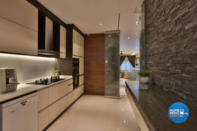 Classical, Contemporary Design - Kitchen - Landed House - Design by Thom Signature Pte Ltd