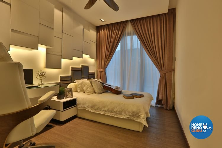 Classical, Contemporary Design - Bedroom - Landed House - Design by Thom Signature Pte Ltd
