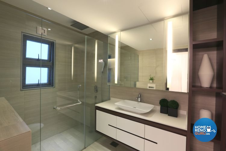 Classical, Contemporary Design - Bathroom - Landed House - Design by Thom Signature Pte Ltd