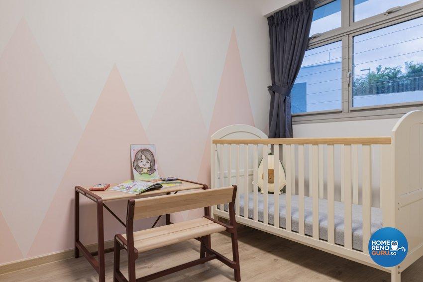Minimalist, Modern, Scandinavian Design - Bedroom - HDB 3 Room - Design by TKB Contractor Pte Ltd