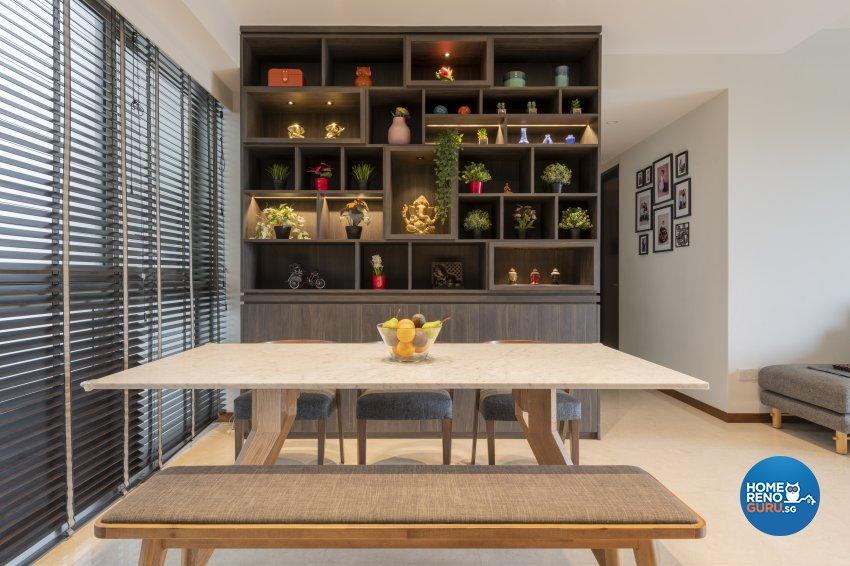 Classical, Contemporary, Modern Design - Dining Room - Condominium - Design by TKB Contractor Pte Ltd