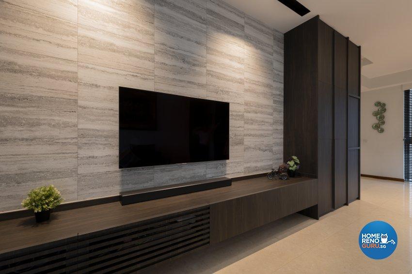 Classical, Contemporary, Modern Design - Living Room - Condominium - Design by TKB Contractor Pte Ltd