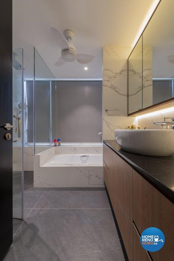 Classical, Contemporary, Modern Design - Bathroom - Condominium - Design by TKB Contractor Pte Ltd