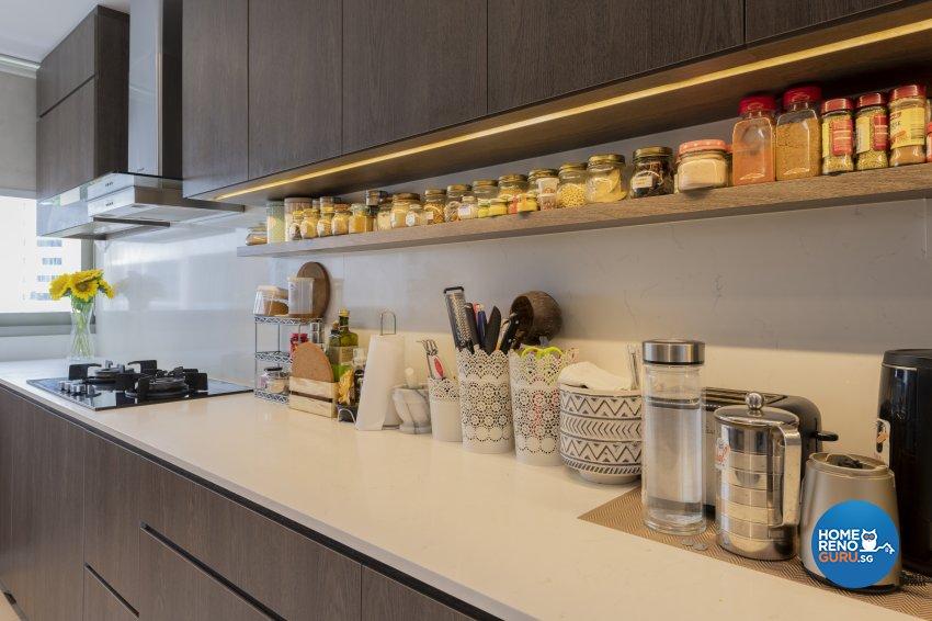 Classical, Contemporary, Modern Design - Kitchen - Condominium - Design by TKB Contractor Pte Ltd