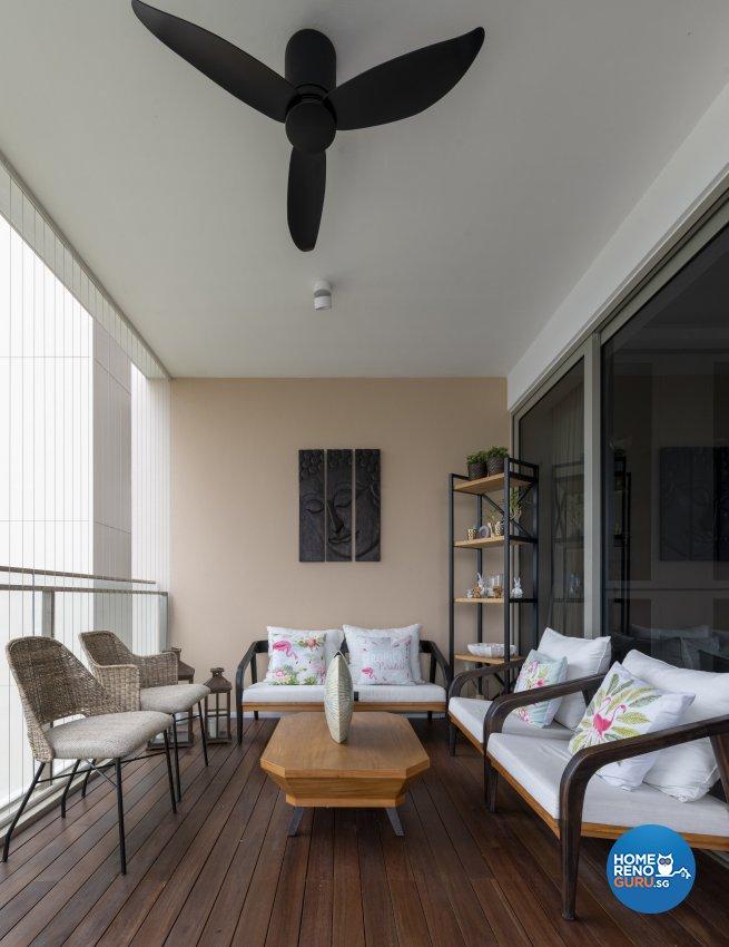 Classical, Contemporary, Modern Design - Balcony - Condominium - Design by TKB Contractor Pte Ltd