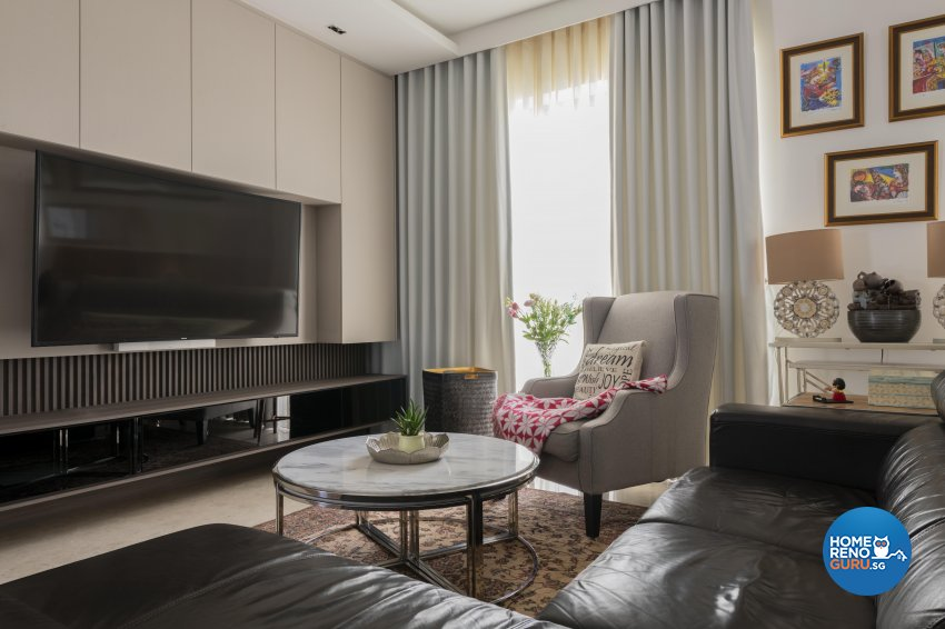 Classical, Contemporary, Modern Design - Living Room - Condominium - Design by TKB Contractor Pte Ltd