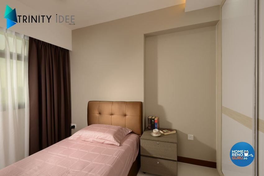 Contemporary Design - Bedroom - HDB 4 Room - Design by Trinity IDee Pte Ltd