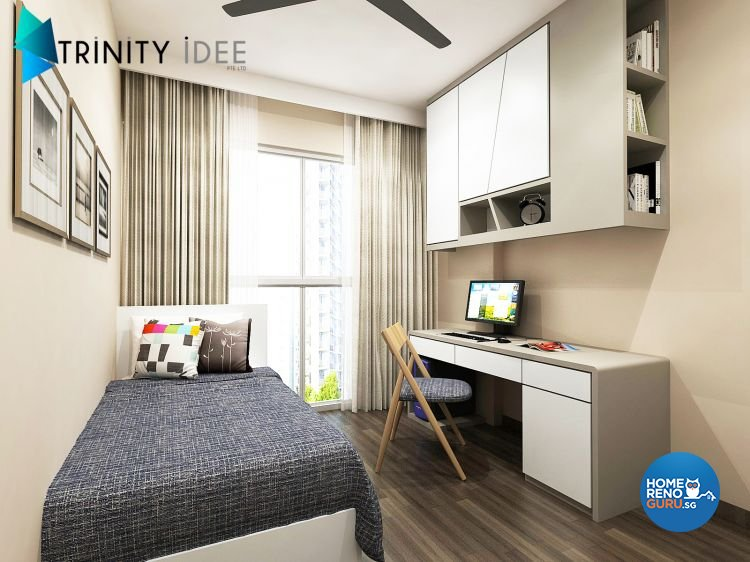 Contemporary, Modern Design - Bedroom - Condominium - Design by Trinity IDee Pte Ltd