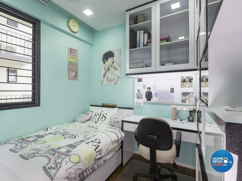 Modern Design - Bedroom - Condominium - Design by Trinity IDee Pte Ltd
