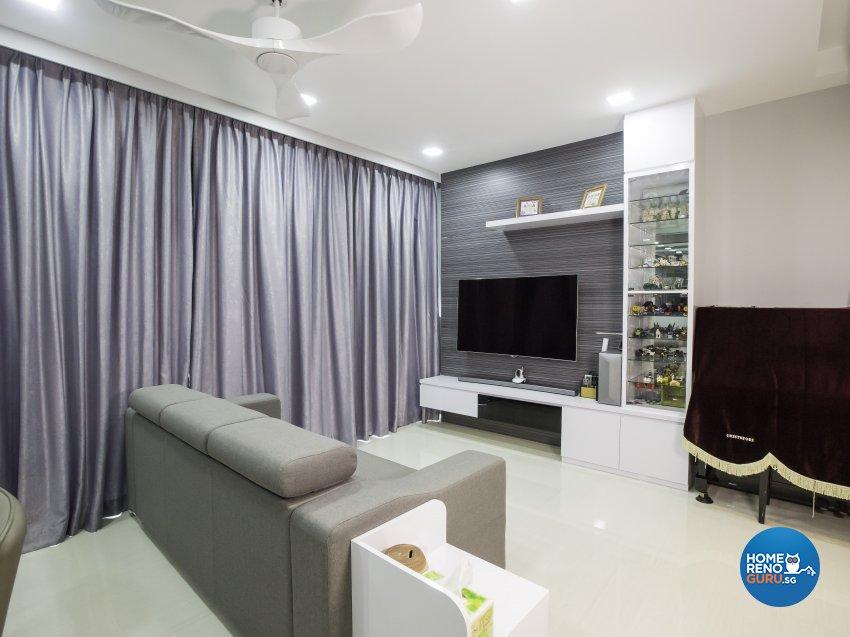 Modern Design - Living Room - Condominium - Design by Trinity IDee Pte Ltd