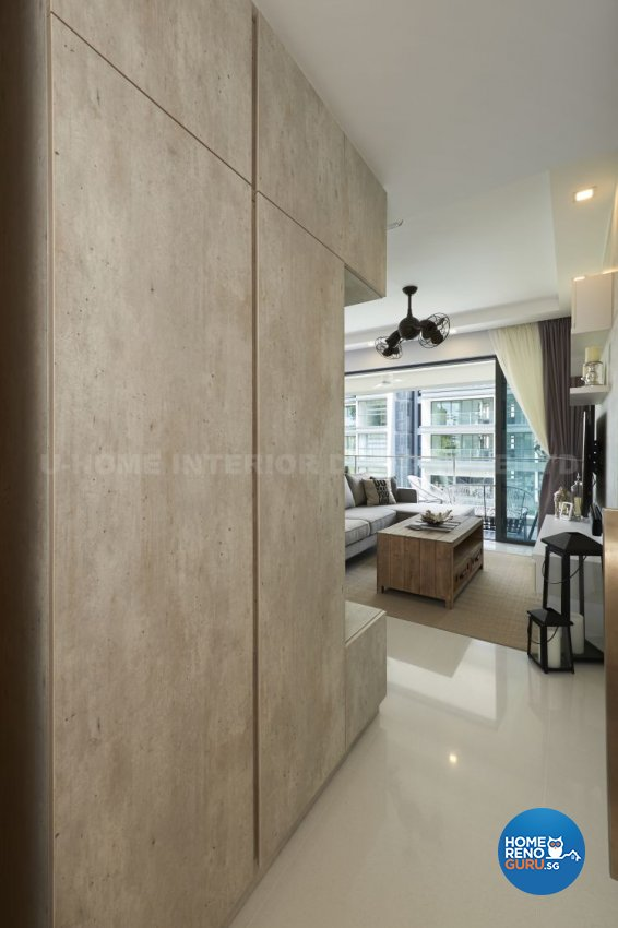 Contemporary, Modern, Tropical Design - Living Room - Condominium - Design by U-Home Interior Design Pte Ltd