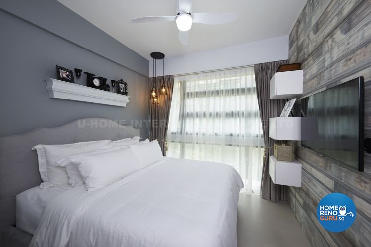 Contemporary, Modern, Tropical Design - Bedroom - Condominium - Design by U-Home Interior Design Pte Ltd