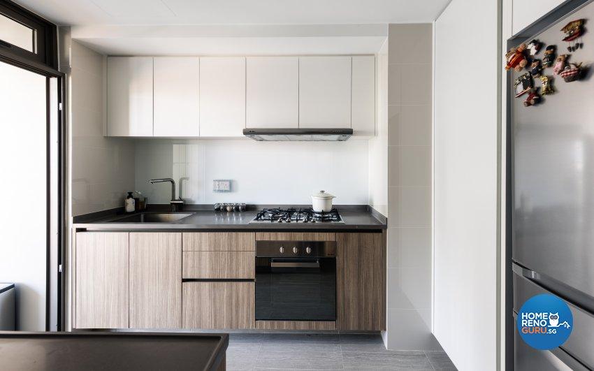 Minimalist Design - Kitchen - Condominium - Design by U-Home Interior Design Pte Ltd