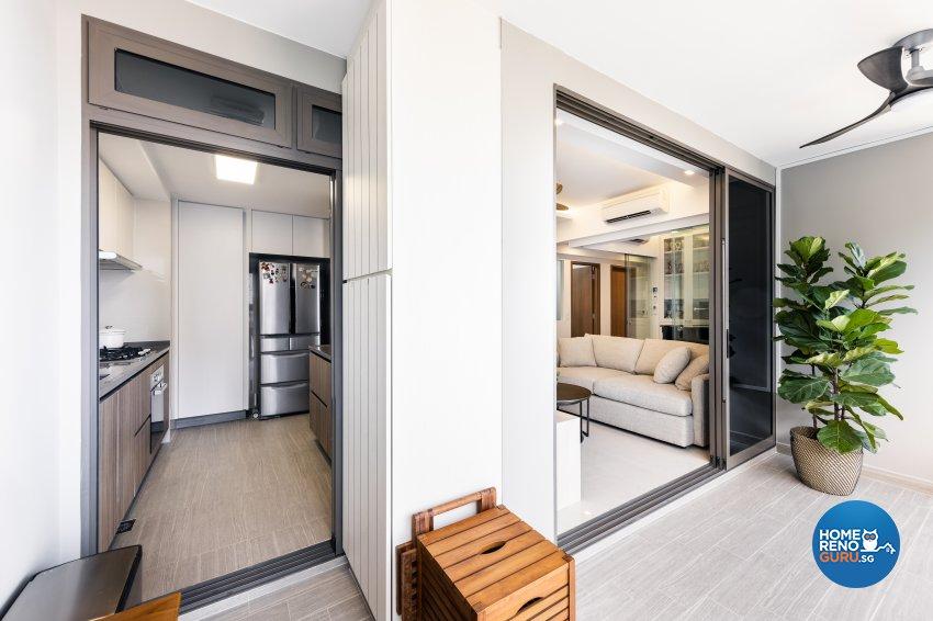 Minimalist Design - Bathroom - Condominium - Design by U-Home Interior Design Pte Ltd