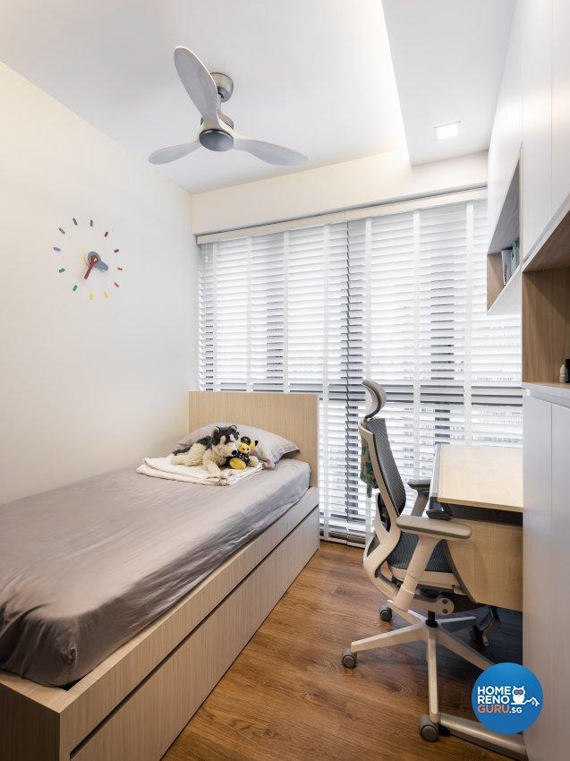 Minimalist Design - Bedroom - Condominium - Design by U-Home Interior Design Pte Ltd