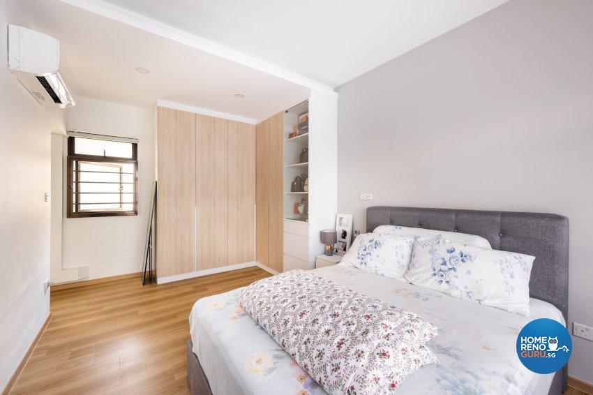 Minimalist, Scandinavian Design - Bedroom - HDB 5 Room - Design by U-Home Interior Design Pte Ltd