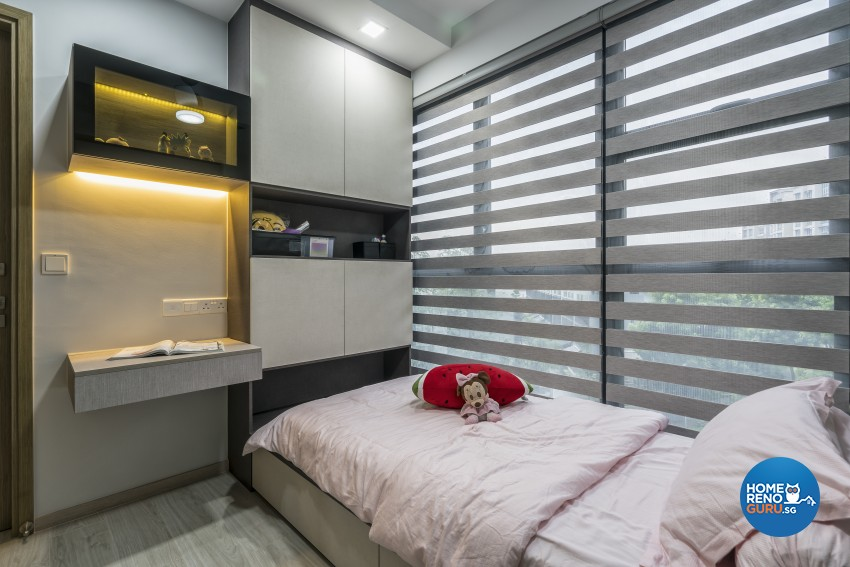 Contemporary Design - Bedroom - Condominium - Design by U-Home Interior Design Pte Ltd