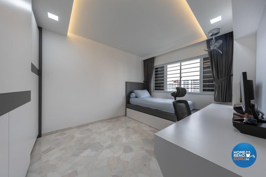 Design - Bedroom - HDB 4 Room - Design by U-Home Interior Design Pte Ltd