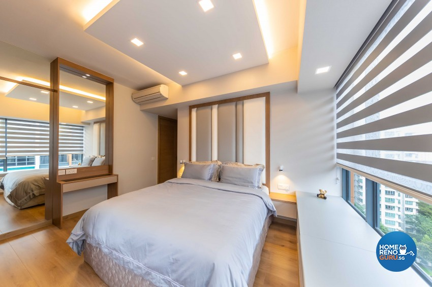 Modern Design - Bedroom - Condominium - Design by U-Home Interior Design Pte Ltd
