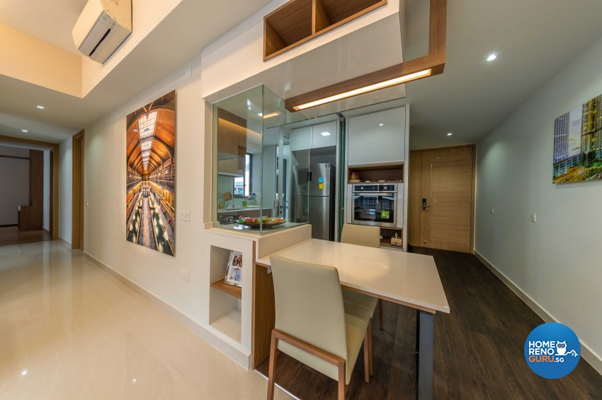 Modern Design - Dining Room - Condominium - Design by U-Home Interior Design Pte Ltd