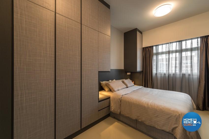 Scandinavian Design - Bedroom -  - Design by U-Home Interior Design Pte Ltd