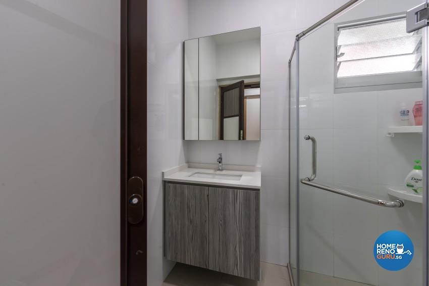 Scandinavian Design - Bathroom -  - Design by U-Home Interior Design Pte Ltd