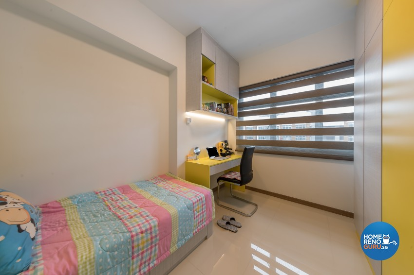 Scandinavian Design - Bedroom -  - Design by U-Home Interior Design Pte Ltd