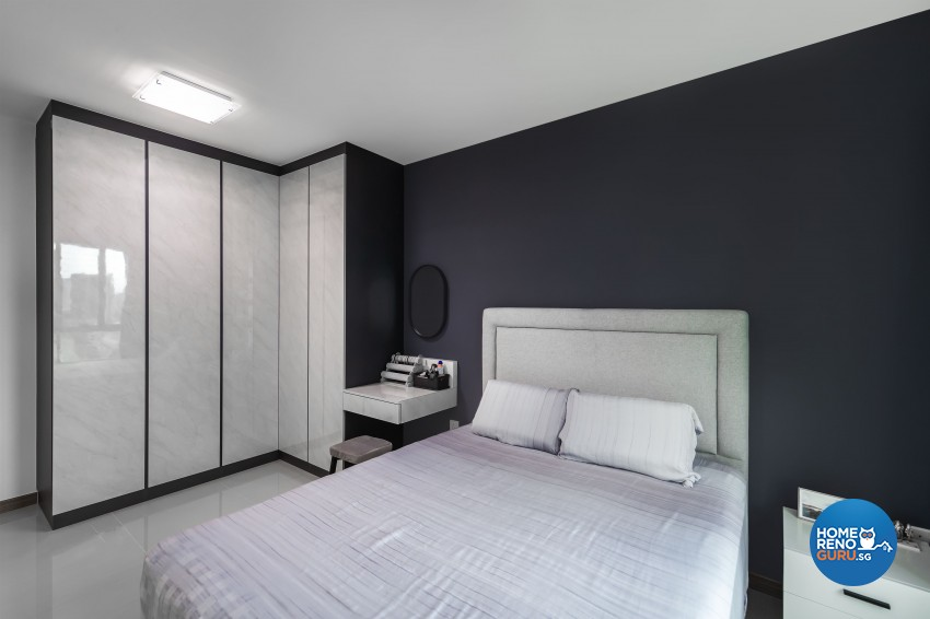 Modern Design - Bedroom - HDB 5 Room - Design by U-Home Interior Design Pte Ltd