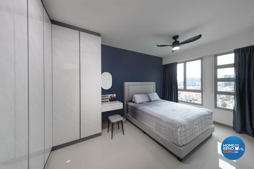 Modern Design - Bedroom - HDB 5 Room - Design by U-Home Interior Design Pte Ltd