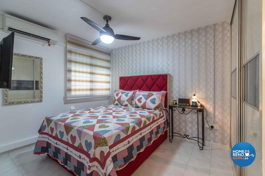 Modern Design - Bedroom - HDB 3 Room - Design by U-Home Interior Design Pte Ltd