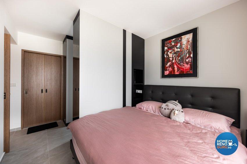 Contemporary, Industrial Design - Bedroom - HDB 5 Room - Design by U-Home Interior Design Pte Ltd