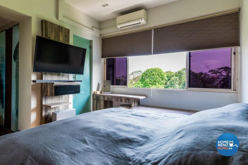 Rustic Design - Bedroom - Condominium - Design by U-Home Interior Design Pte Ltd