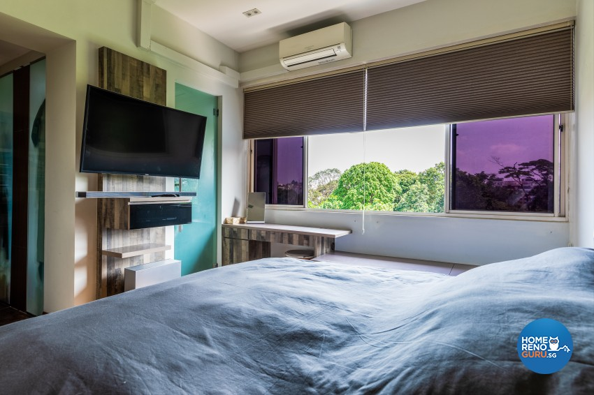 Rustic Design - Bedroom - Condominium - Design by U-Home Interior Design Pte Ltd
