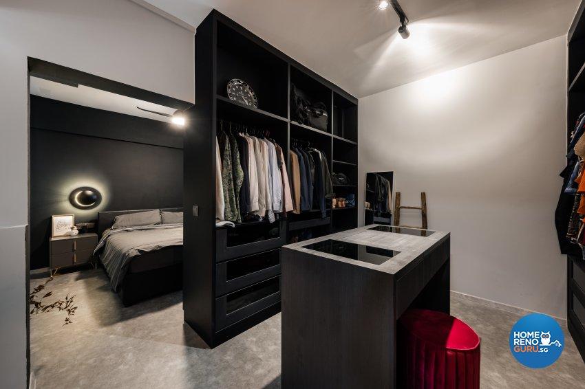 Industrial, Modern Design - Bedroom - HDB 4 Room - Design by U-Home Interior Design Pte Ltd