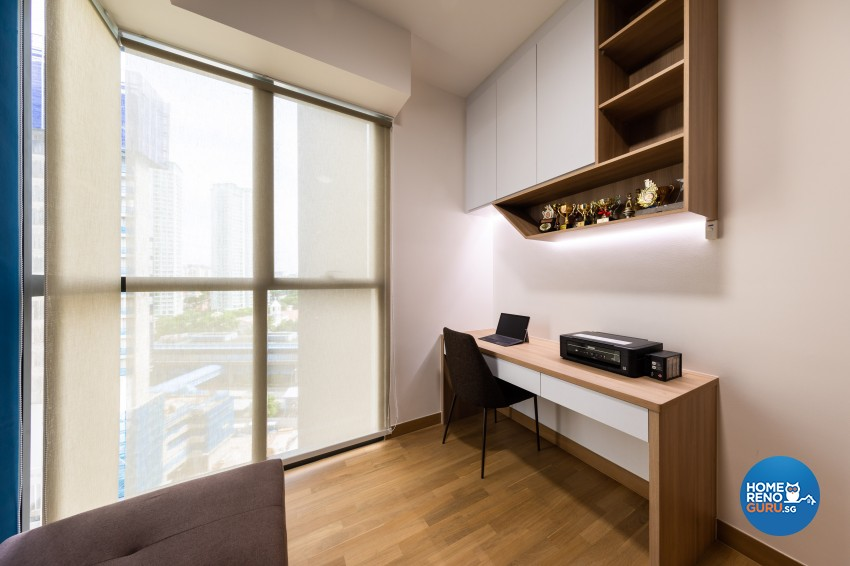 Modern Design - Study Room - Condominium - Design by U-Home Interior Design Pte Ltd