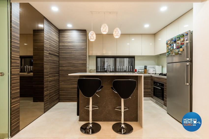 Modern Design - Dining Room - Condominium - Design by U-Home Interior Design Pte Ltd