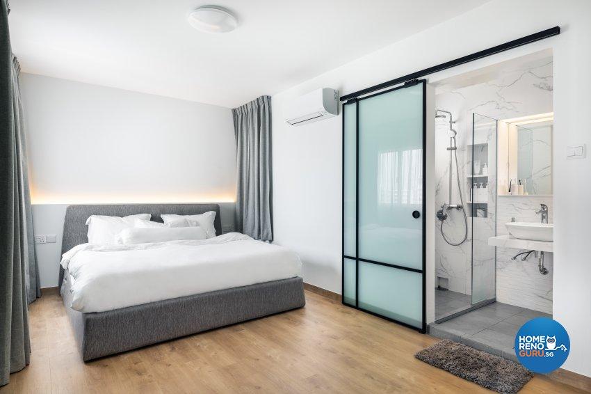 Minimalist Design - Bedroom - HDB 5 Room - Design by U-Home Interior Design Pte Ltd