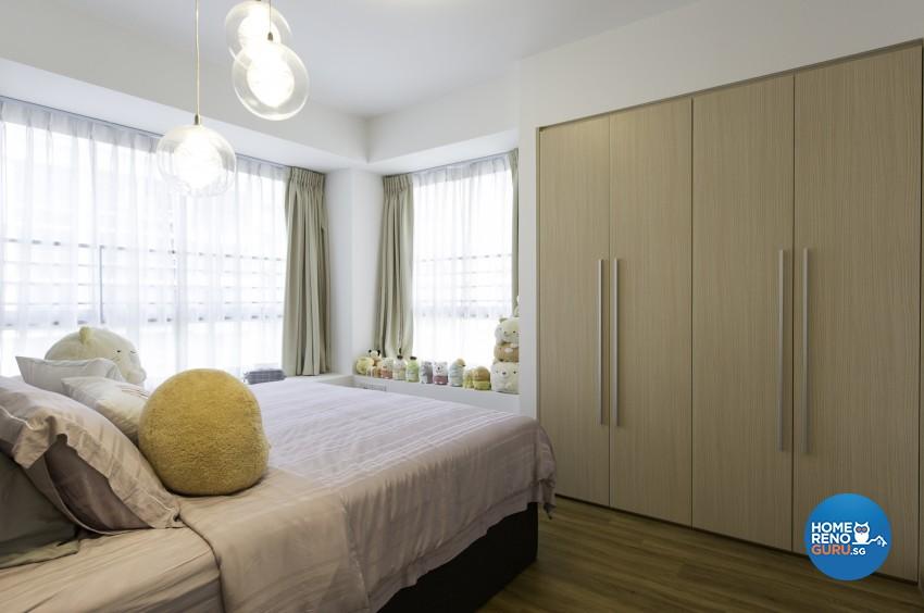 Modern, Scandinavian Design - Bedroom - HDB 5 Room - Design by U-Home Interior Design Pte Ltd